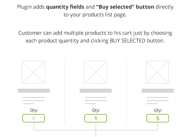 WooCommerce Buy Selected Button - 2